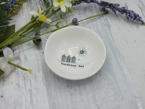 Sunshiny Day small porcelain dish