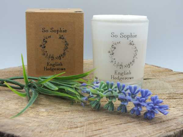 English Hedgerow small candle