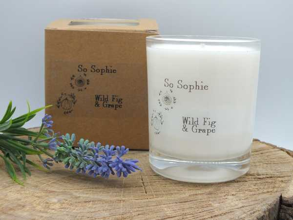 Wild Fig and Grape large candle