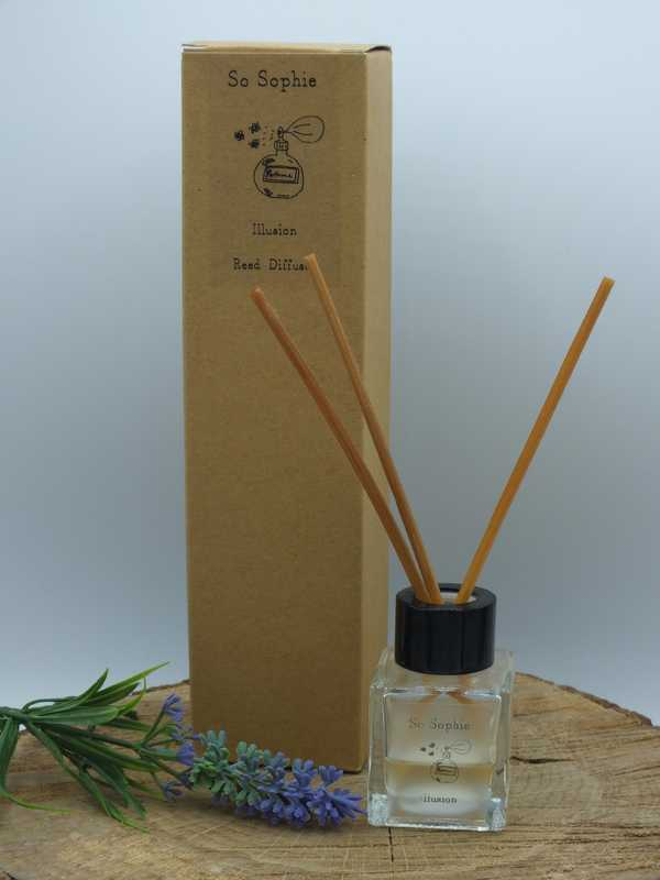 Illusion reed diffuser