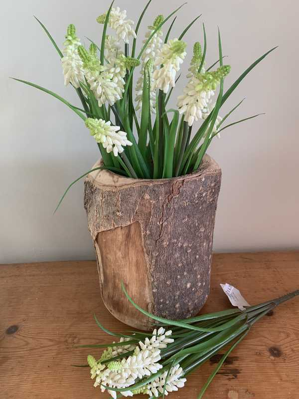 White Grape Hyacinth multi stem bouquet
