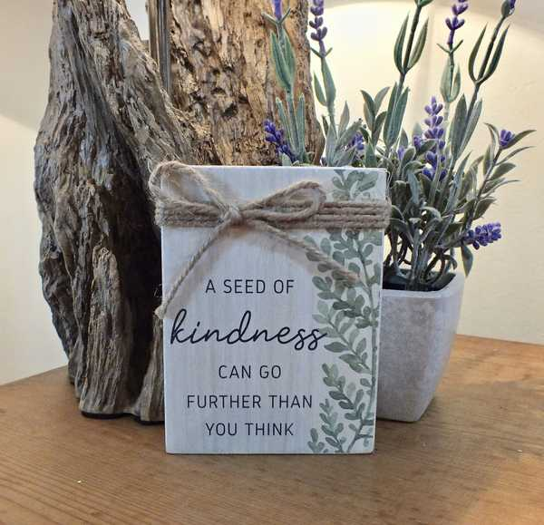 A Seed Of Kindness Can Go Further Than You Think Block
