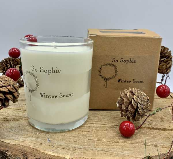 Winter Scent Large Candle