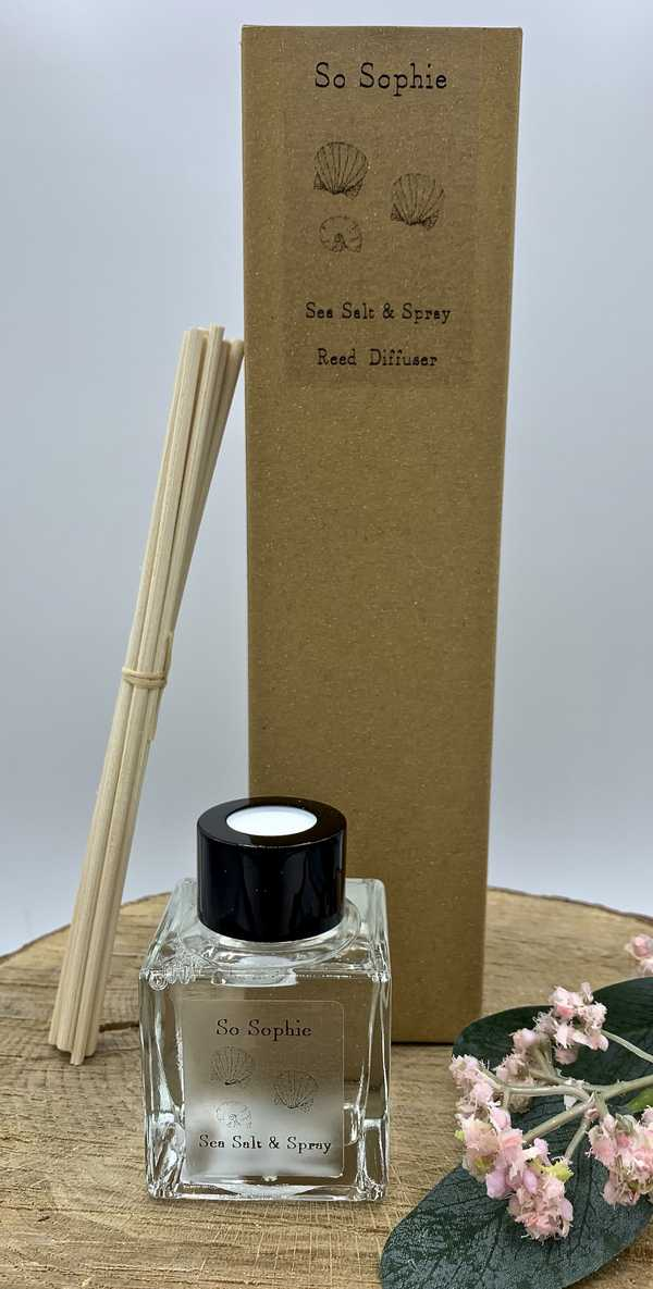 Sea Salt & Spray Reed Diffuser