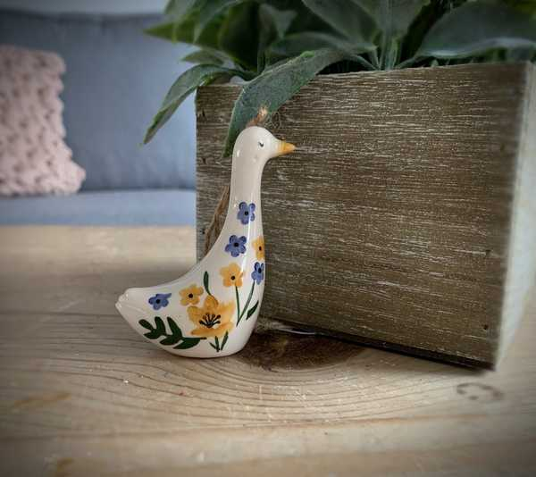 Gisela Graham Ceramic Goose
