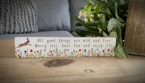 All Good Things Rectangular Plaque