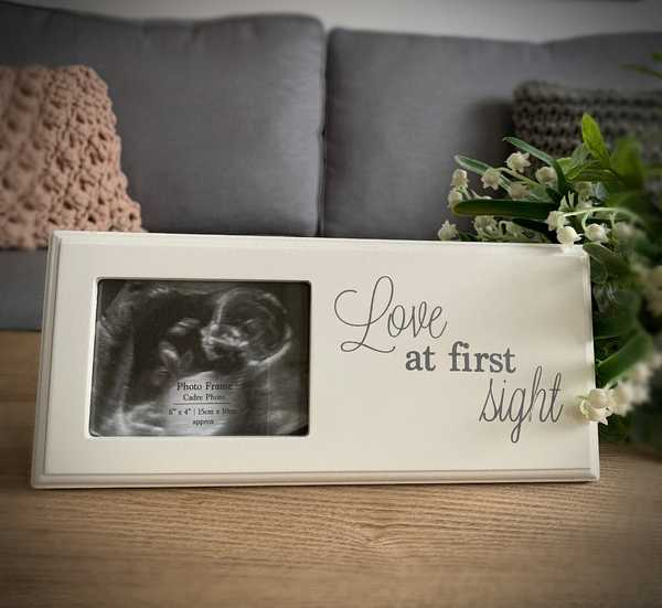 Love Baby Scan Frame
